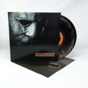 Halloween OST Orange and Black Starburst Colour LP