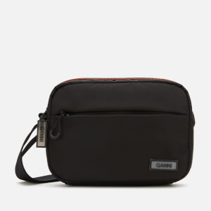 Ganni Women's Tech Fabric Camera Bag - Black