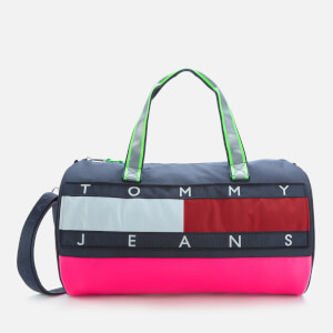 Tommy Jeans Women's Heritage Duffle - Pink Glo/Navy