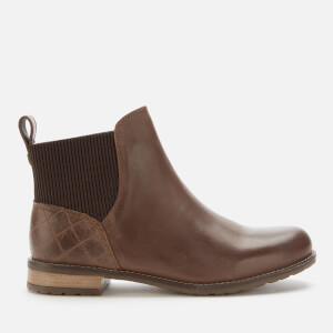 Barbour Women's Hope Leather Chelsea Boots - Wine