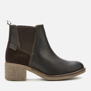 Barbour Women's Keren Leather Heeled Chelsea Boots - Brown