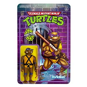Super7 Teenage Mutant Ninja Turtles ReAction Figure - Donatello