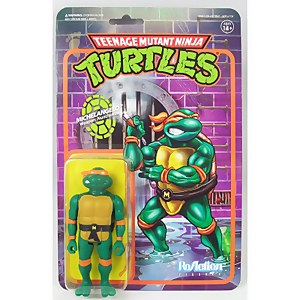 Super7 Teenage Mutant Ninja Turtles ReAction Figure - Michelangelo