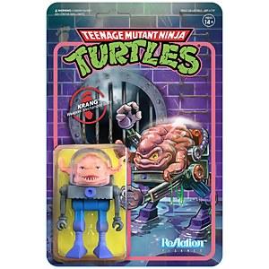 Super7 Teenage Mutant Ninja Turtles ReAction Figure - Krang