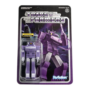 Super7 Transformers ReAction Figure - Shockwave