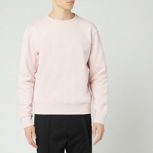 Maison Margiela Men's Elbow Patch Sweatshirt - Peony Pink