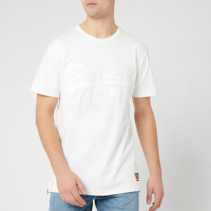 Superdry Men's Vintage Logo Box Fit App T-Shirt - Off White