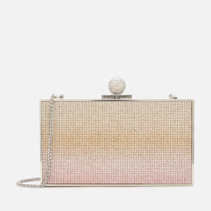 Sophia Webster Women's Clara Crystal Box Bag - Champagne Ombre