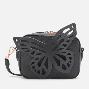 Sophia Webster Women's Flossy Butterfly Camera Bag - Black