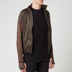 Satisfy Men's Rip Running Jacket - Leopard