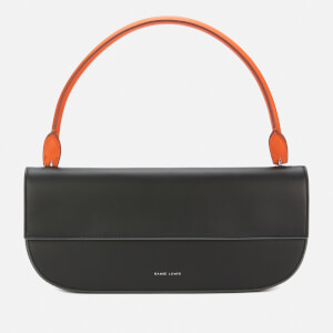 Danse Lente Women's Baguette Shoulder Bag - Fire/Black