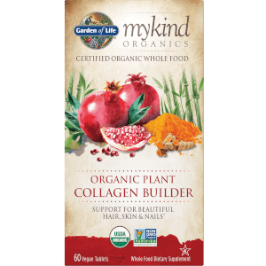 mykind Organics Plant Collagen Builder - 60 Tablets