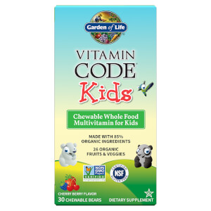 Vitamin Code Kids' Multivitamins - Cherry Berry - 30 Chewables