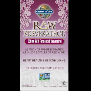 Raw Resveratrol純天然白藜蘆醇-60粒膠囊