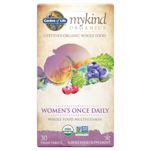 Мультивитаминный комплекс для женщин mykind Organics Women's Once Daily ― 30 таблеток