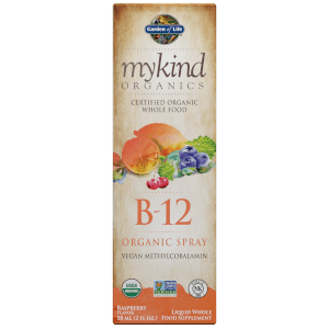 Spray Vitamine B-12 mykind Organics - Framboise - 58ml