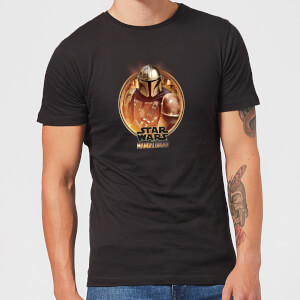 The Mandalorian Framed Men's T-Shirt - Black