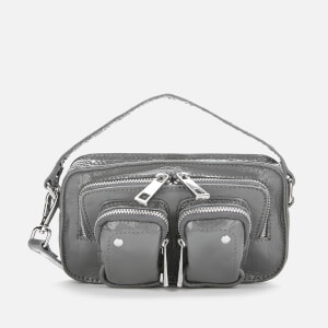Núnoo Women's Helena Gloss Cross Body Bag - Grey