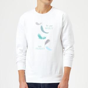 Spirit Flight Sweatshirt - White