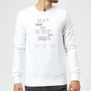 Merry Days Sweatshirt - White