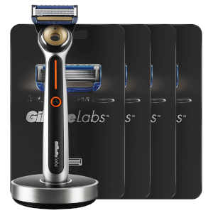 Heated Razor Starter Kit and 32 Blade Refills