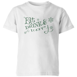 Eat and Drink Kids' T-Shirt - White
