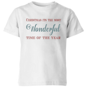 Wonderful Kids' T-Shirt - White