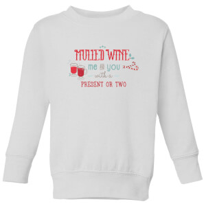 Mulled Wine Kids' Sweatshirt - White