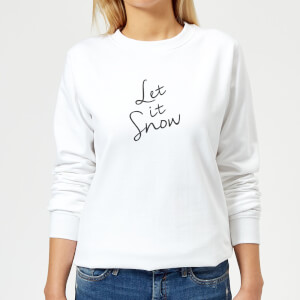 Let It Snow Women's Sweatshirt - White