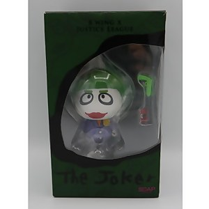 "Soap Studios B.Wing X DC Comics Joker 4"" Collectable Figure - Zavvi UK Exclusive"