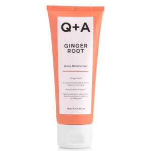 Q+A Ginger Root Daily Moisturiser 75ml