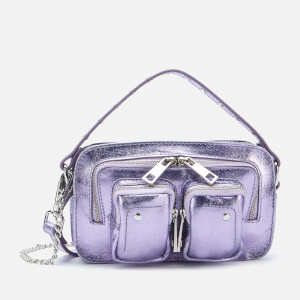 Núnoo Women's Helena Metallic Cross Body Bag Exclusive - Purple