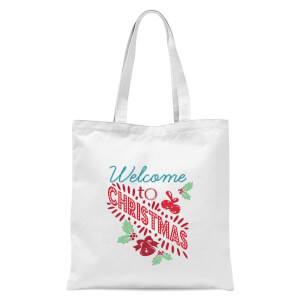 Welcome Tote Bag - White