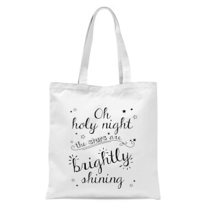 Holy Night Tote Bag - White