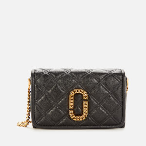 Marc Jacobs Women's Flap Cross Body Bag - Black