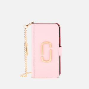 Marc Jacobs Women's iPhone Xs Case - Powder Pink Multi