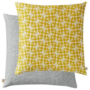 Orla Kiely Acorn Cup Woven Cushion - Dandelion