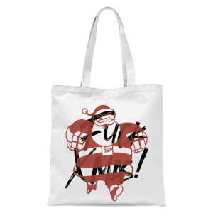Fuck Xmas With Presents Tote Bag - White