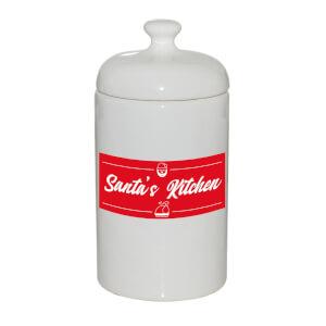 Santa's Kitchen Storage Jar