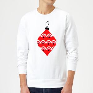 Bauble Sweatshirt - White