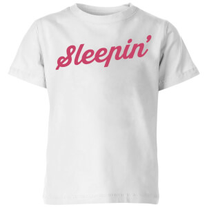 Sleepin Kids' T-Shirt - White