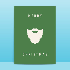 Merry Christmas Greetings Card