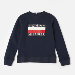 Tommy Hilfiger Boys' Essential Sweatshirt - Black Iris