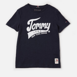Tommy Hilfiger Boys' Tommy 1985 T-Shirt - Black Iris