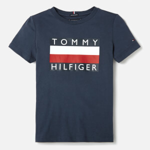 Tommy Hilfiger Boys' Essential T-Shirt - Black Iris