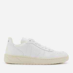 Veja Women's V-10 Leather Trainers - Extra White