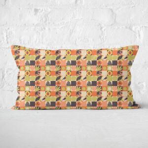 Orange Jurassic Park Rectangular Cushion 30x50