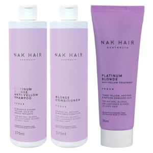 Nak Platinum Blonde Trio (Worth $74.85)