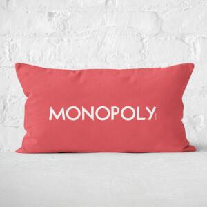 Monopoly Pattern Cushion 30x50cm Rectangular Cushion