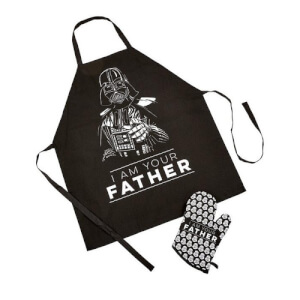 Funko Homeware Star Wars: Apron and Oven Glove Set: I am your Father